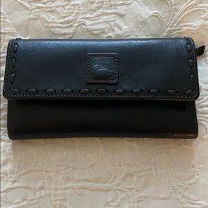 Dooney & Burke black leather wallet